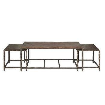 Alice Lane Home Collection Bunching Cocktail Table