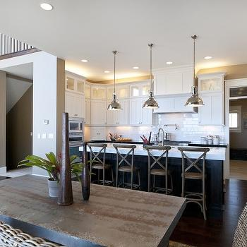 Restoration Hardware Madeline Cafe Counter Stools, Transitional, kitchen, Candlelight Homes