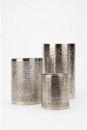Urbanoutfitters Com Gt Punched Metal Votive Candle Holder