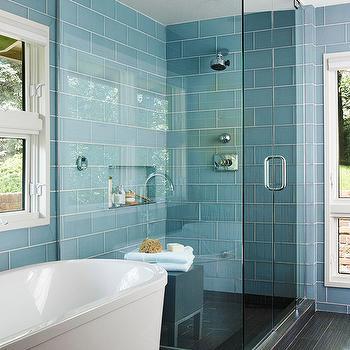 Blue Glass Tiles Design Ideas