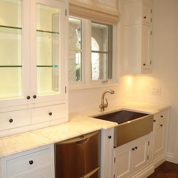 Double Dishwashers, Transitional, kitchen, Designer Friend
