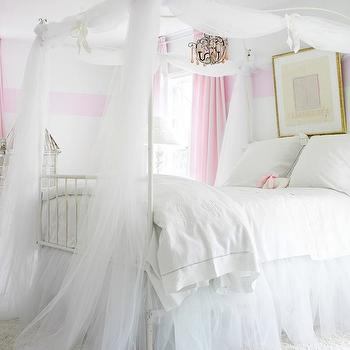 Girl's Canopy Bed, Traditional, girl's room, Atlanta Homes & Lifestyles