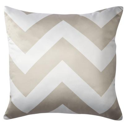 Decorative Chevron Pillow - Gold : Target