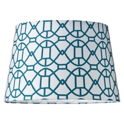 Mix And Match Lamp Shade   Turquoise (Large) : Target