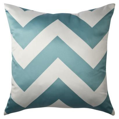 Decorative Pillowcases Target : Decorative Chevron Pillow - Turquoise : Target