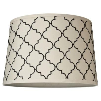 Lime geo stitch accent lamp shade world market mix and match lamp shade embroidered shade w target aloadofball Choice Image