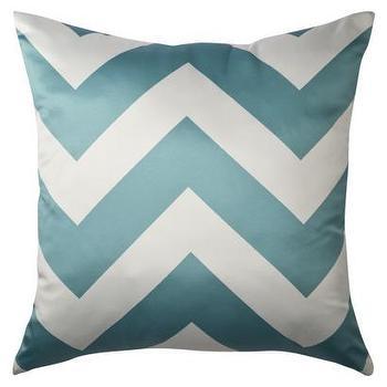 Decorative Chevron Pillow, Turquoise : Target