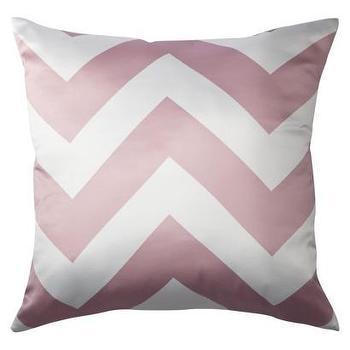 Decorative Chevron Pillow, Pink : Target