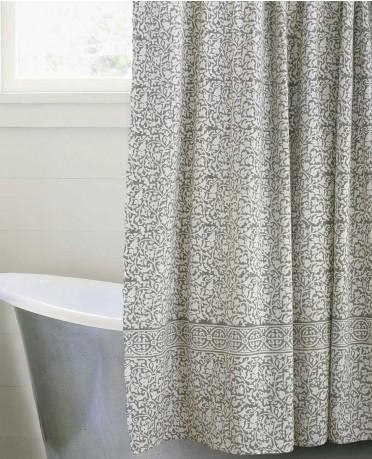 Taupe Shower Curtain Vivaterra