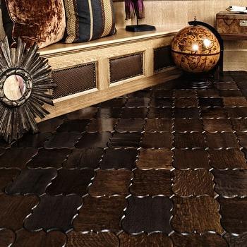Arabesque Floor, Eclectic, living room, Beckwith Interiors