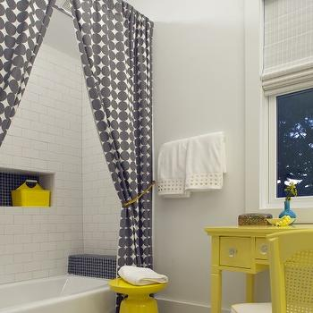 Yellow And Gray Bathroom Design Ideas