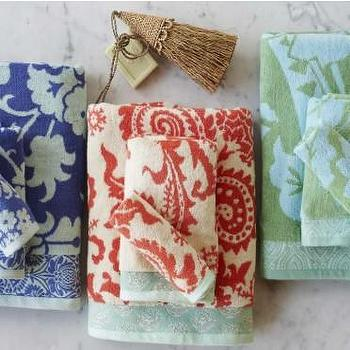 Flower Garden Towels, VivaTerra