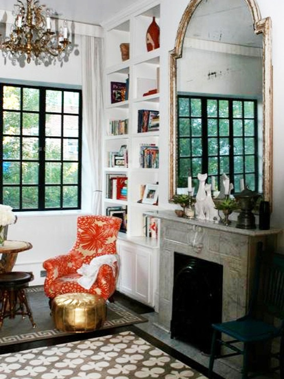 What Genevieve gorder home office