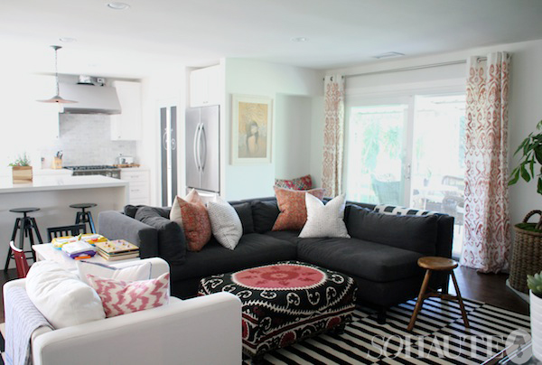 Amber Lewis Living Room Featured On So Haute