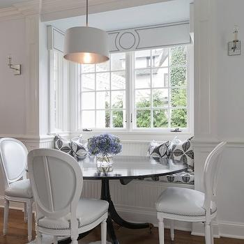 Built In Banquette, Contemporary, dining room, Tiffany Eastman Interiors
