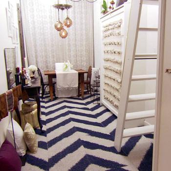 Chevron Carpet Tiles Design Ideas