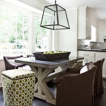 Restoration Hardware Aluminum Dining Table Design Ideas