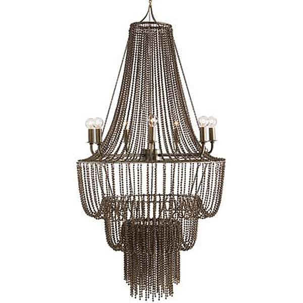Rustic black wire chandelier for Rustic wire chandelier