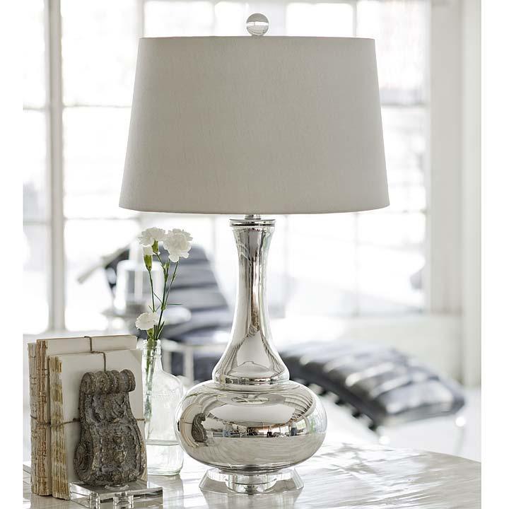 Regina Andrew Mercury Glass Gourd Lamp Regina Andrew 505