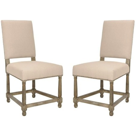 Restoration Hardware Empire Parsons Upholstered Side Chair Look 4 Less