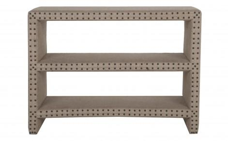 bretton burlap shelf casegoods furniture burlap furniture