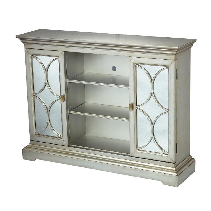 Bon Sterling Industries 88 1223 Excelsior Decorative Storage Cabinet   Home  Furniture Showroom