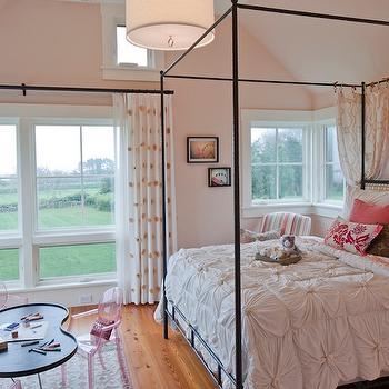 Pin Tuck Duvet, Contemporary, girl's room, Hutker Architects
