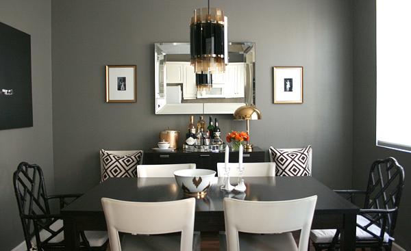 Gray Rooms Contemporary Dining Room Ralph Lauren
