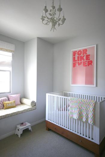 Amy Coe Westport Crib Contemporary Nursery Benjamin