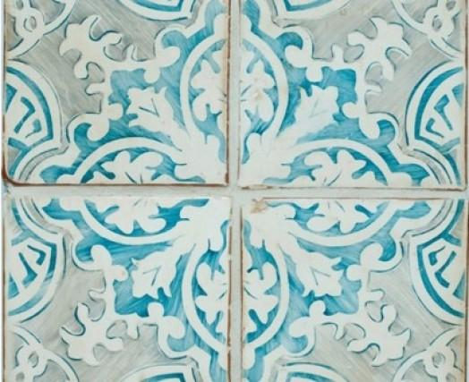 Tabarka Luxury Teal Grey Decorative Tiles