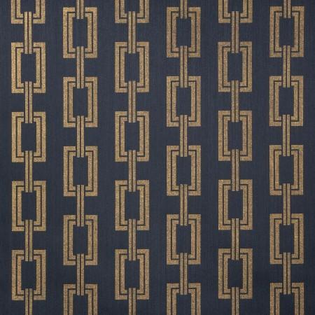 Voyage Collection Navy Blue Gold Phillip Jeffries Wall Paper