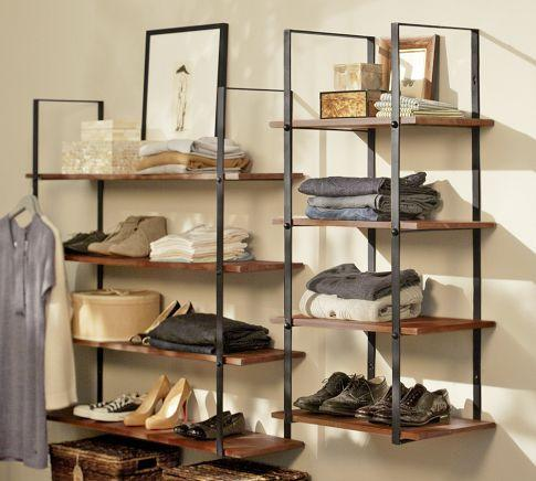 Closet Wall Shelf Pottery Barn