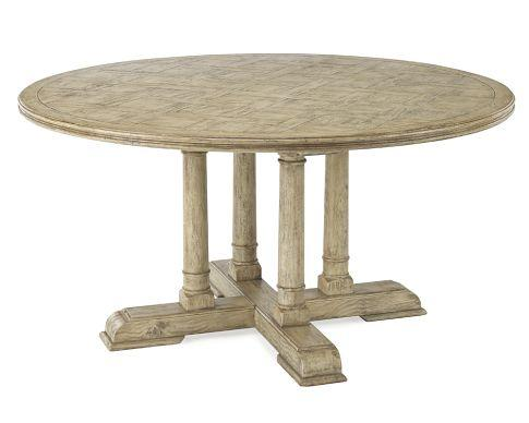 Round Dining Table Driftwood - Williams-Sonoma