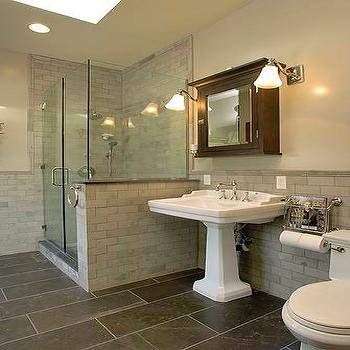 Magaizne Rack in Bathroom, Transitional, bathroom, XLart Group