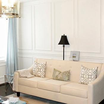 Wainscoting Design Ideas interior design tampa wonderful world of wainscoting Macys Chloe Sofa