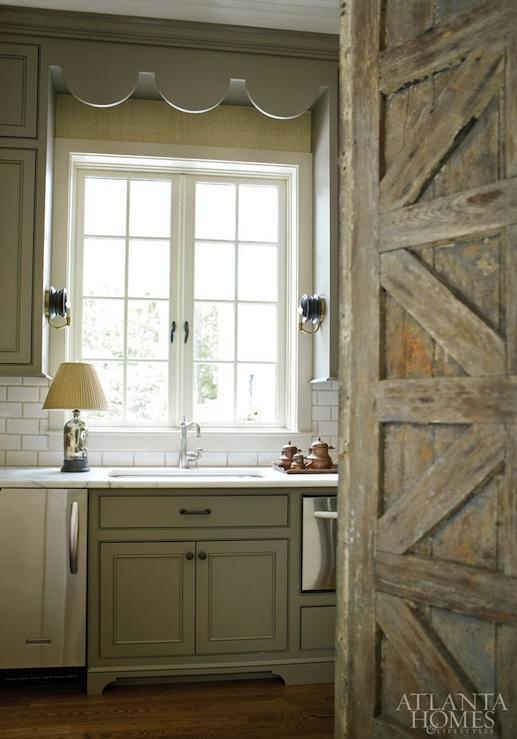 Found Door Country Kitchen Atlanta Homes Lifestyles