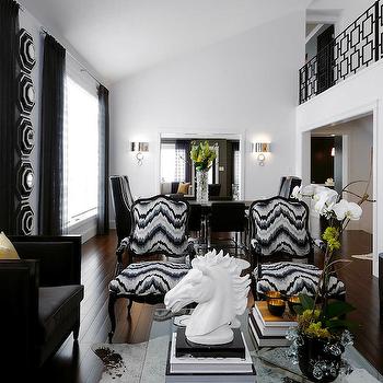 Kelly Wearstler Flair Noir, Contemporary, living room, Atmosphere Interior Design