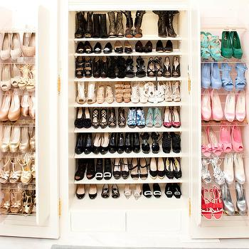 Revolving Shoe Cabinet, Contemporary, closet, The Coveteur
