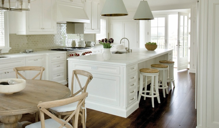 Seagrass Counter Stools Transitional