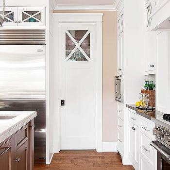 Pantry with Pocket Door, Cottage, kitchen, BHG