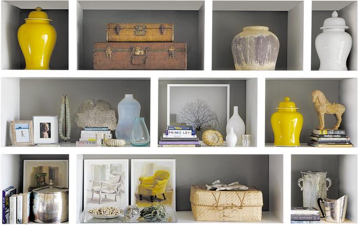 Yellow ginger Jar, Transitional, living room, Kim Stephen