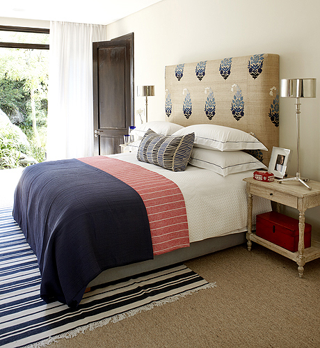 Blue And Red Bedroom Designs Bedroom Colours For Guys Sleigh Bed Bedroom Ideas Best Master Bedroom Colors: Navy Blue Headboard Design Ideas