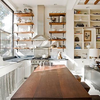 Kitchen Shelving, Transitional, kitchen, The Brooklyn Home Company