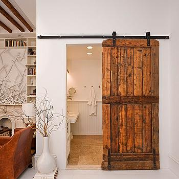 Mirrored Barn Door Design Ideas
