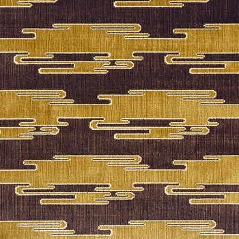 Sora Velvet, Oro/Bark Indoor Upholstery Fabric, Fabric Copia