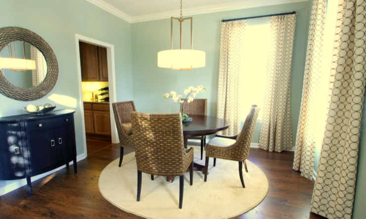 Dining Room Sherwin Williams Contented