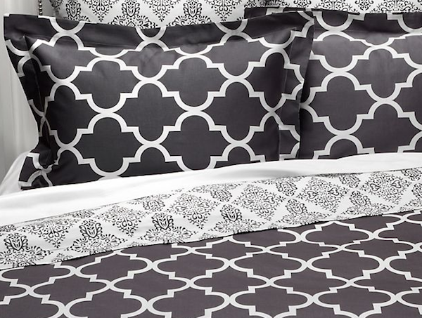 Z Gallerie Mimosa Reversible Bedding Look 4 Less