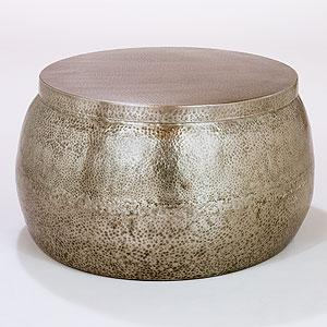 Cala Hammered Coffee Table Living Room Furniture