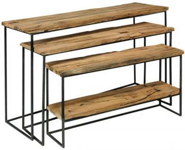 Recycled Nested Console Tables   Nesting Tables   Living Room Furniture    Furniture   HomeDecorators.com