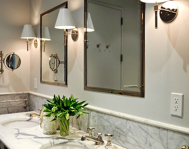 inset sconces design ideas